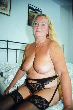 Dicke Alte Frau